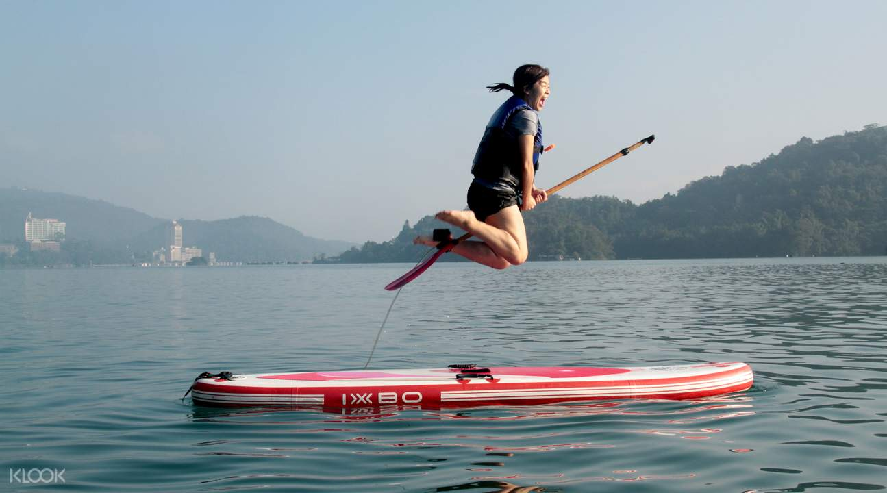 stand up paddle board tours sun moon lake