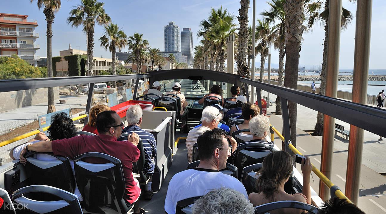 巴塞罗那随上随下观光巴士票