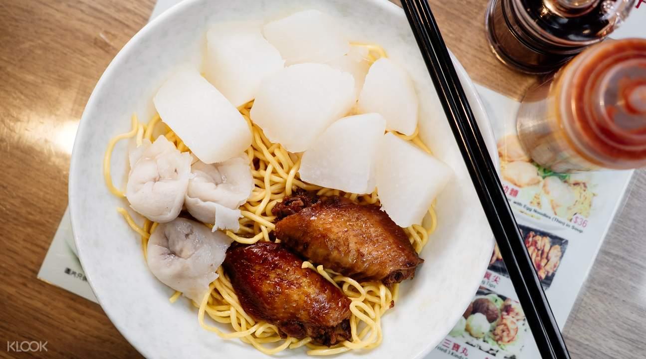 hee kee cart noodle street food