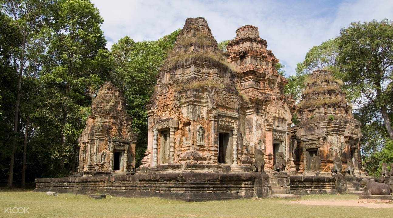preah ko temple roluos temples private day tour by tuk tuk siem reap