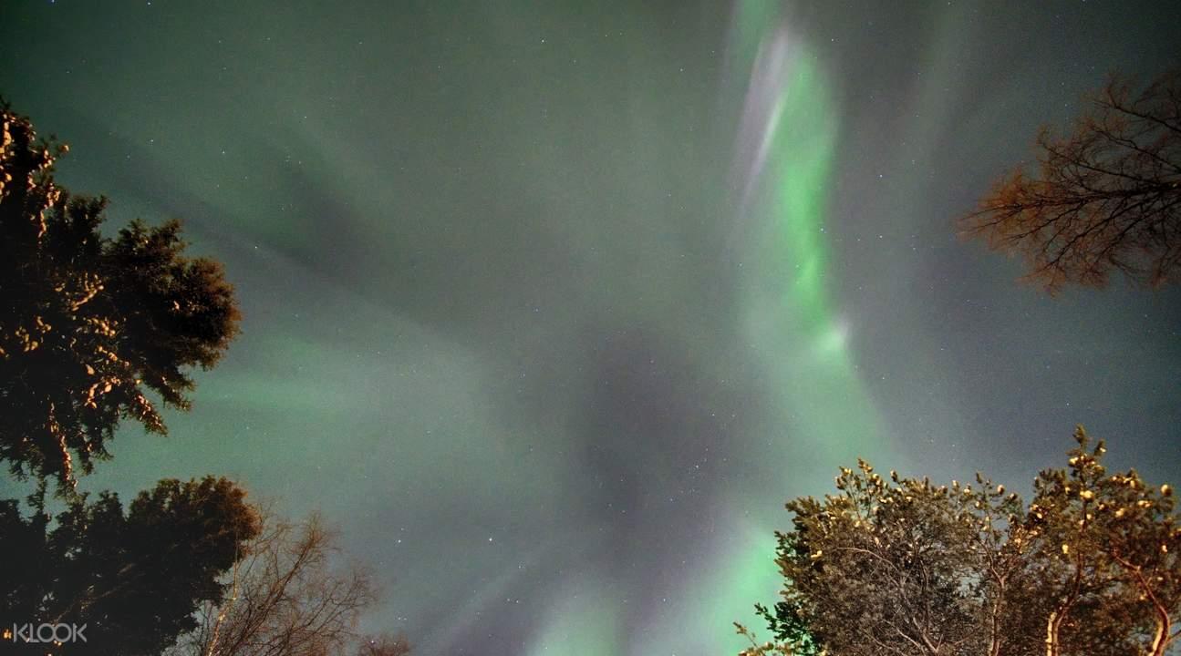 aurora borealis rovaniemi finland