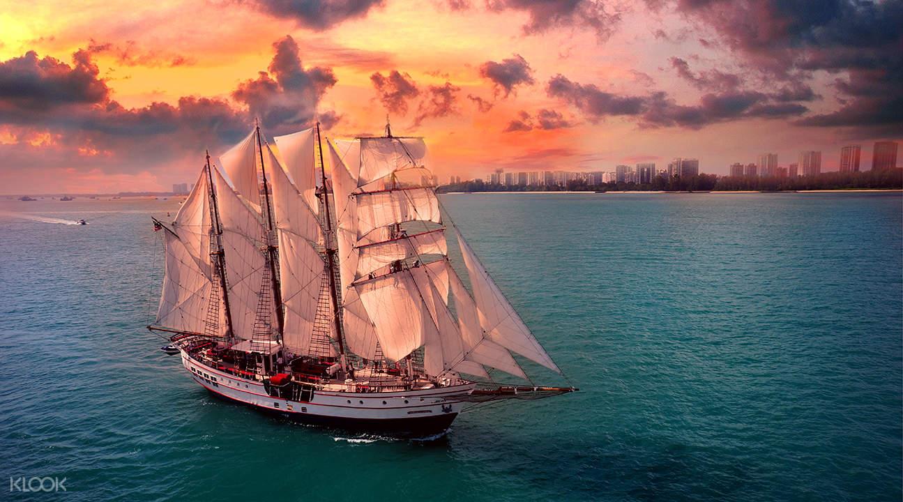 Royal Albatross Sunset Sail