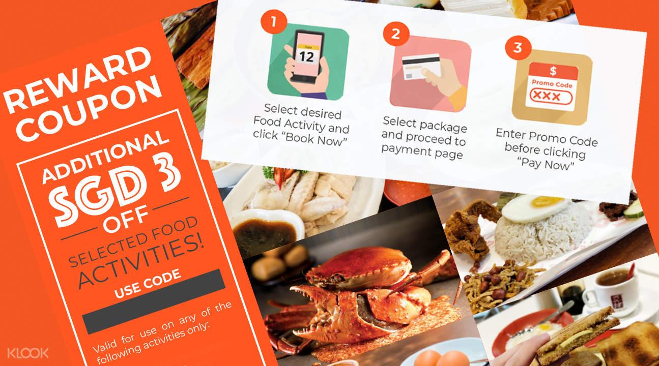 SGD1 Singapore Food Adventure Starter Pack - Klook