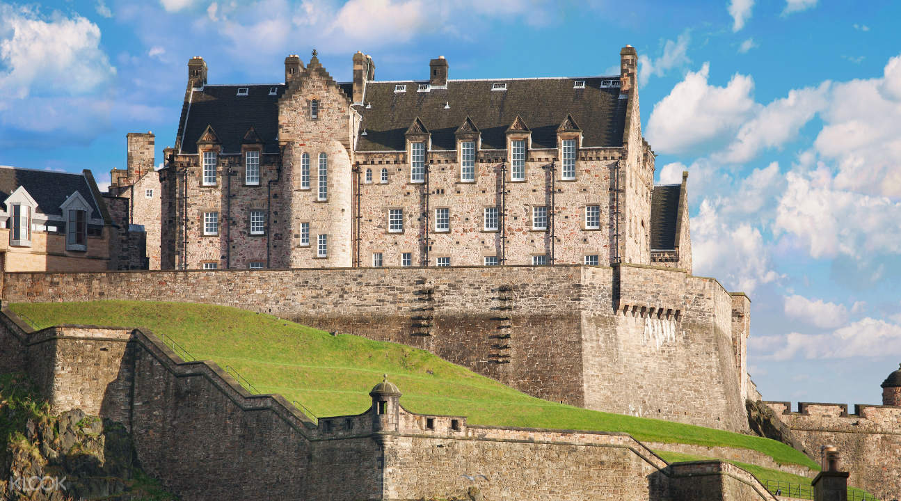 the New Barracks in Edinburgh Castle