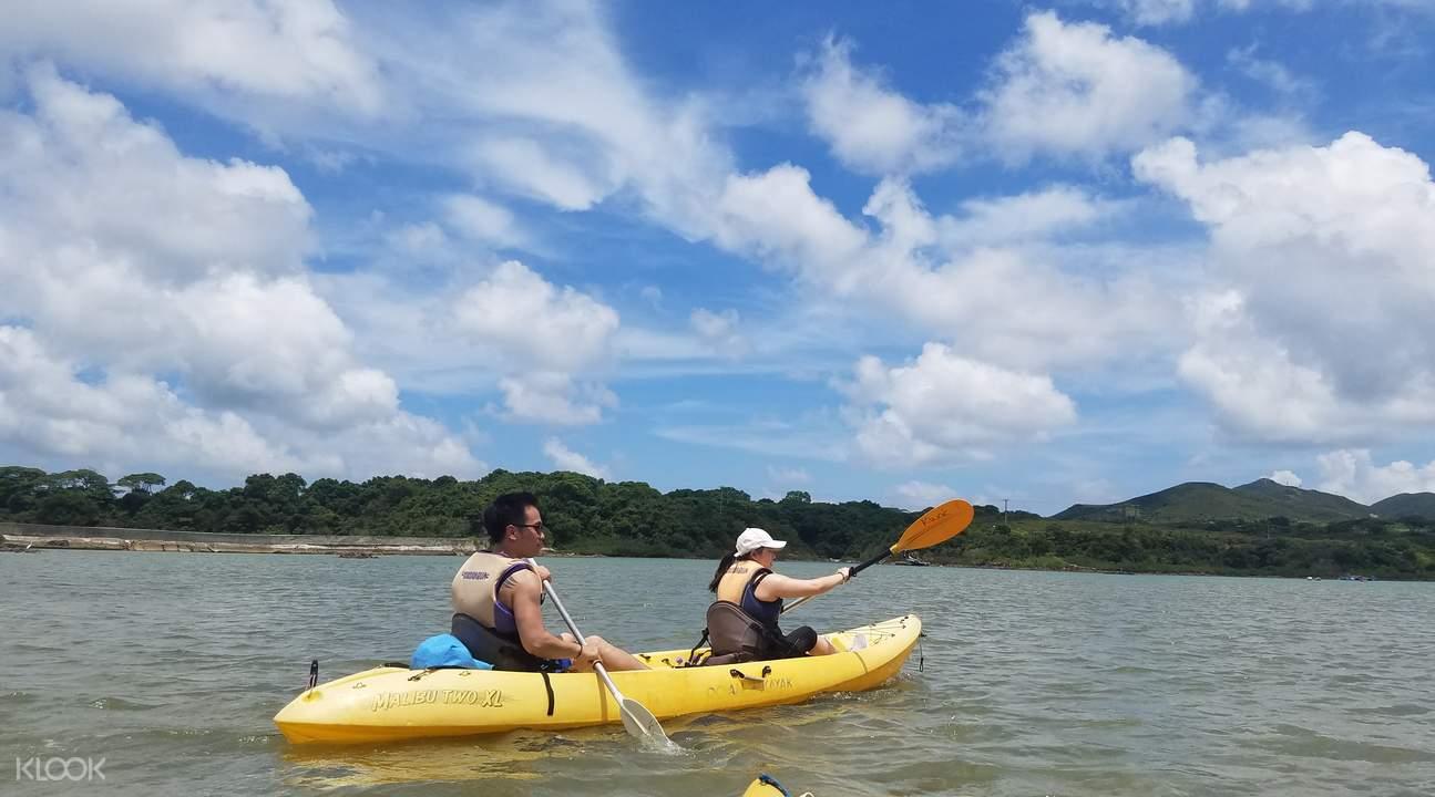 西貢獨木舟