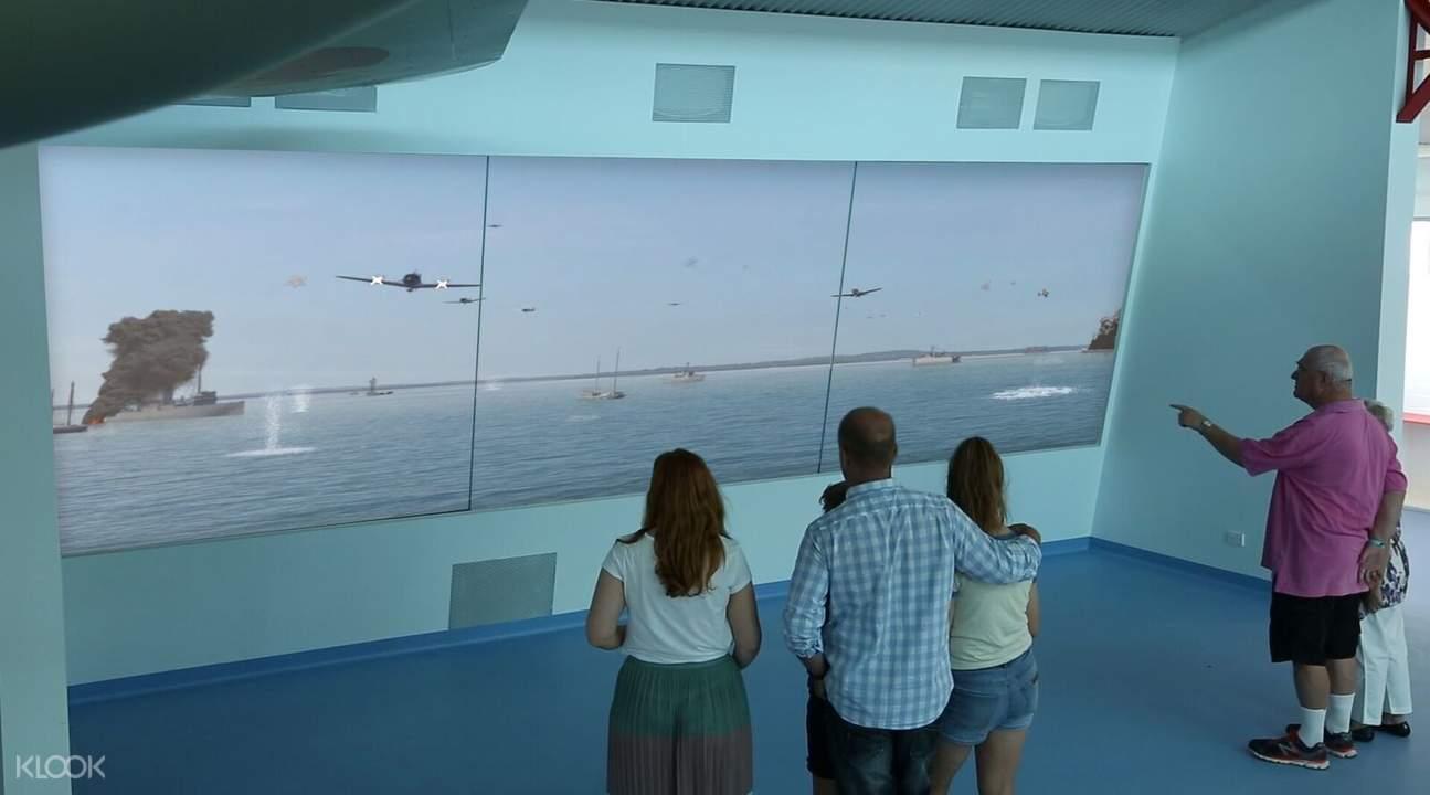 皇家飛行博物館曆史錄像