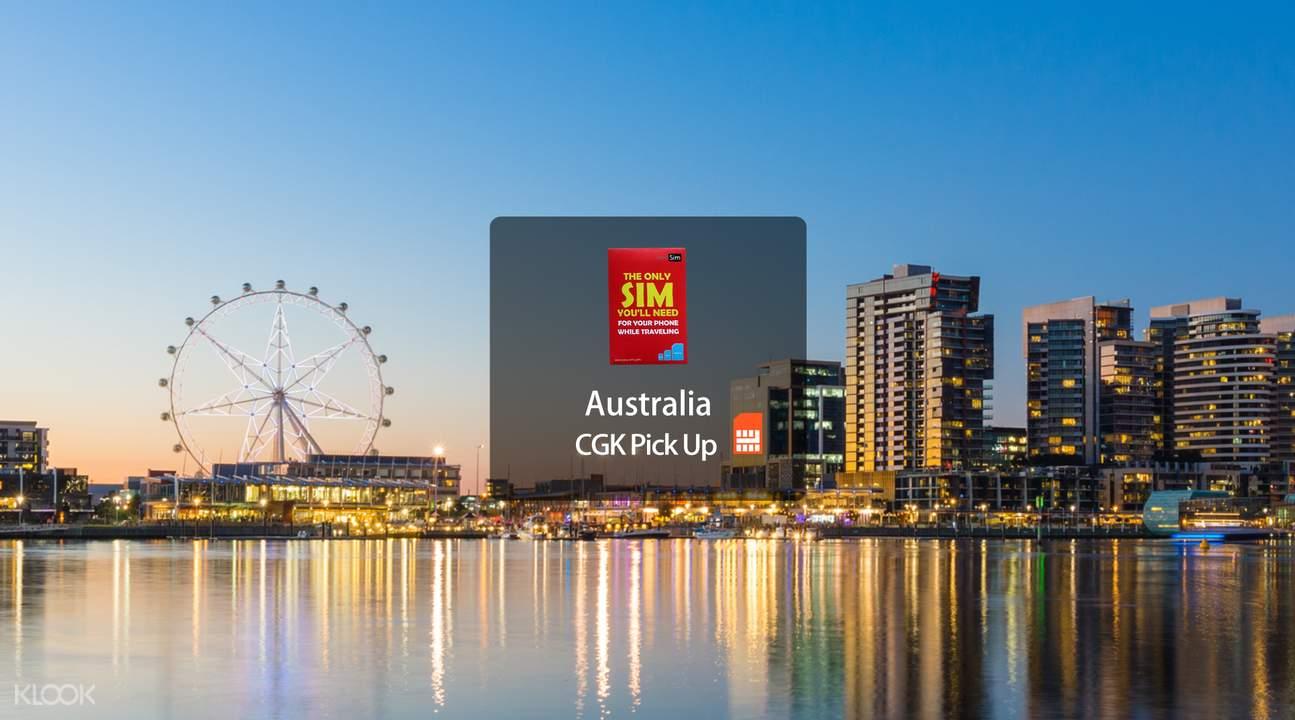 澳大利亞4G上網卡