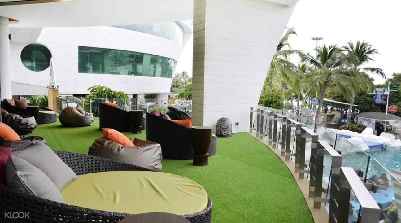 泰國芭提雅A-One皇家遊輪酒店The Boat餐廳下午茶