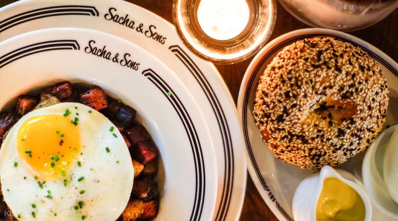 新加坡紐約餐館Sacha and Sons - 烏節路