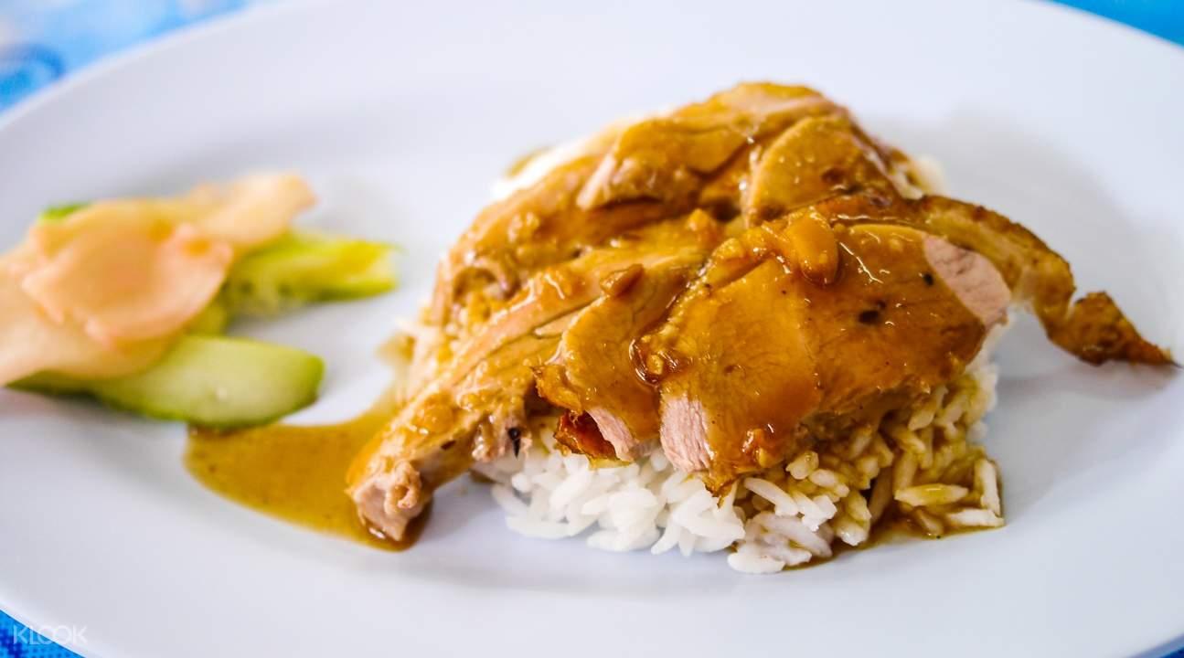 曼谷Bangrak区美食文化半日游