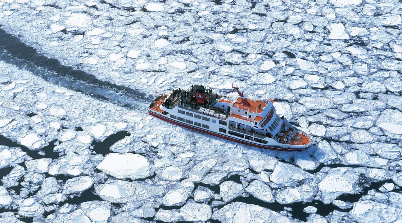 日本網走Aurora極光號觀光破冰船