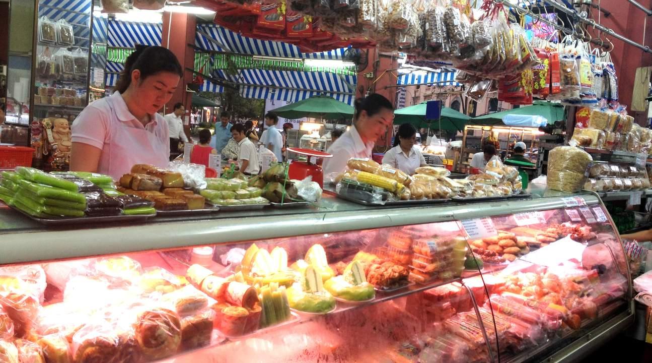 西貢夜市美食
