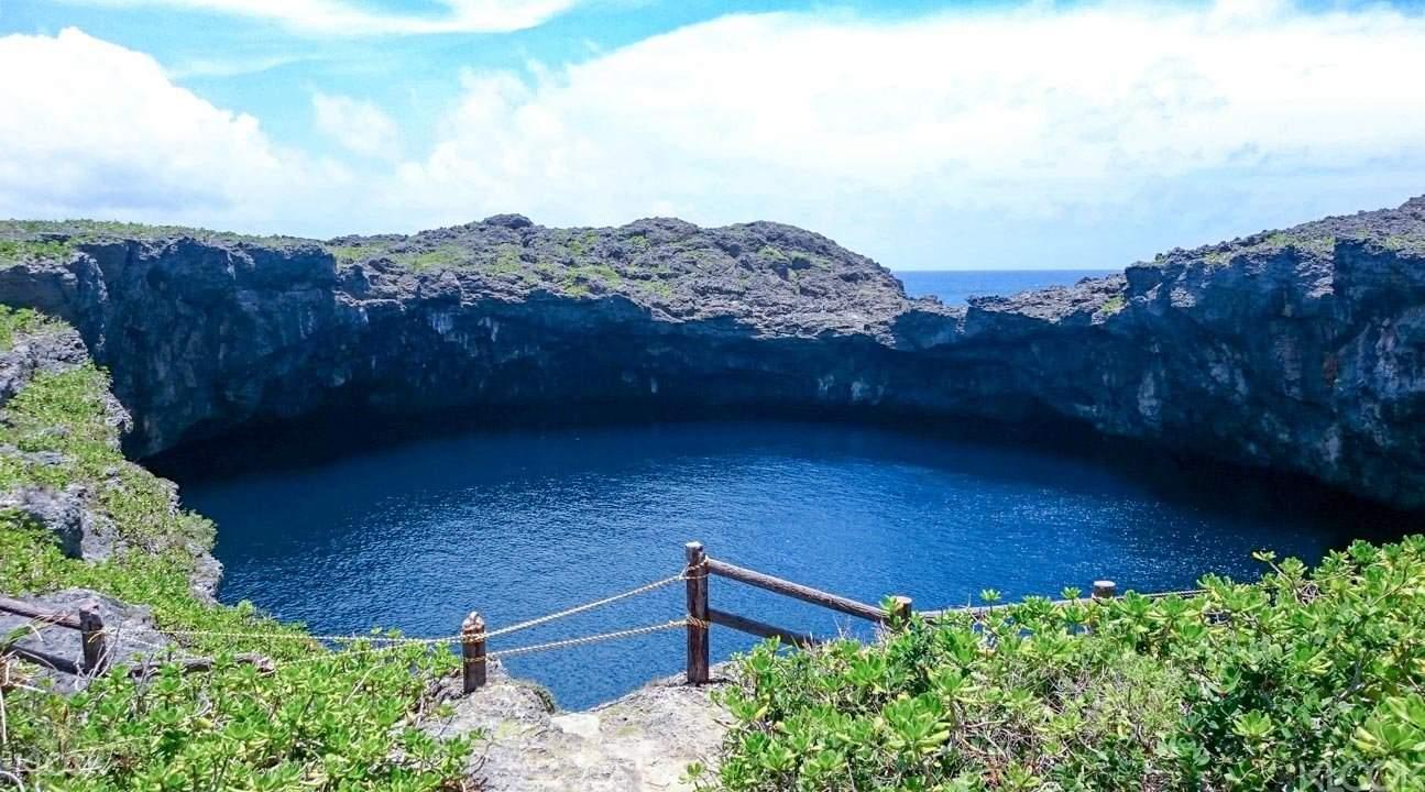 沖繩青洞潜水3