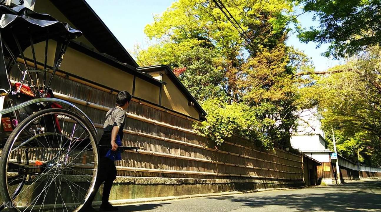 Higashiyama rickshaw tour