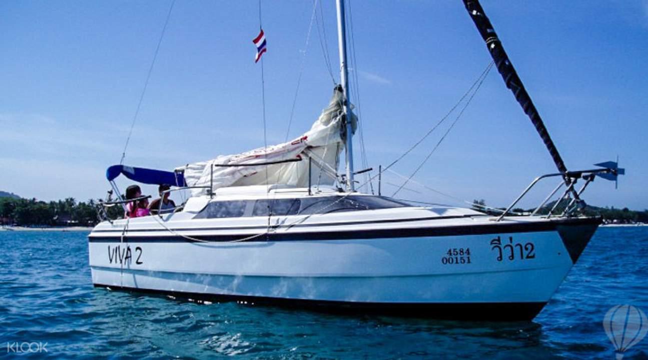 私人帆船蘇美海上游