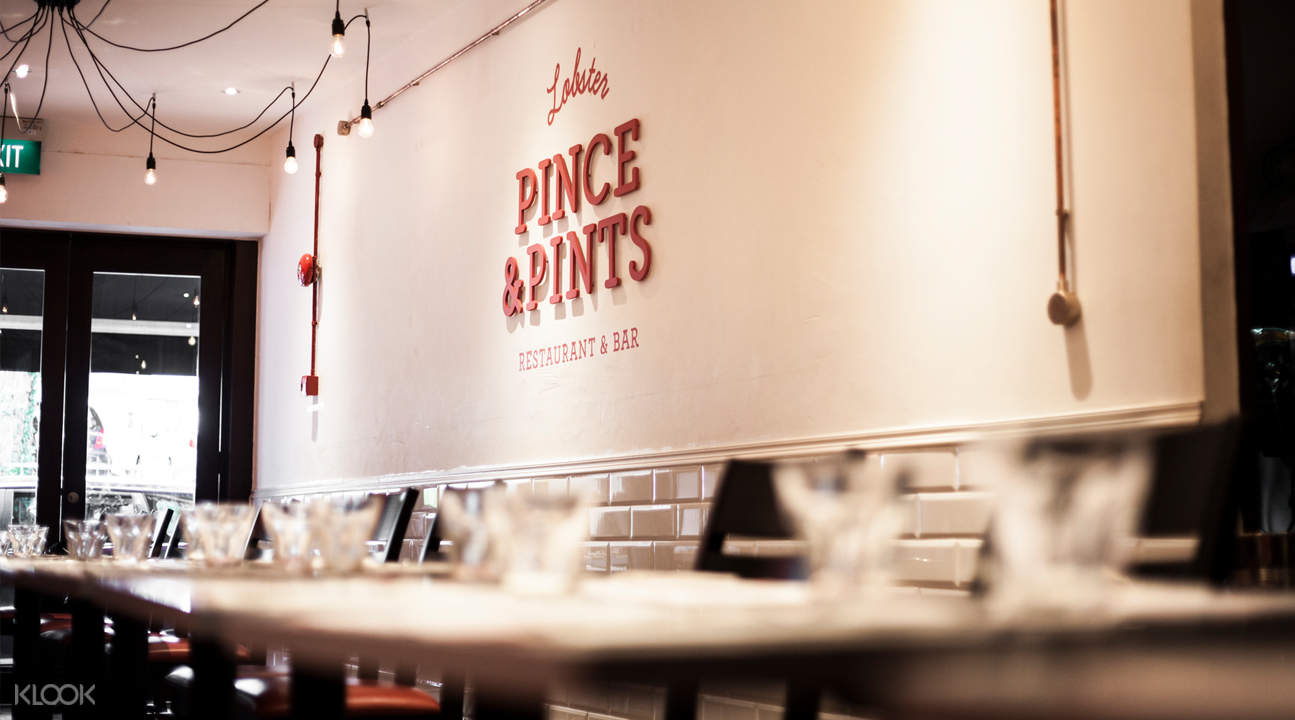 pince and pints restaurant and bar singapore