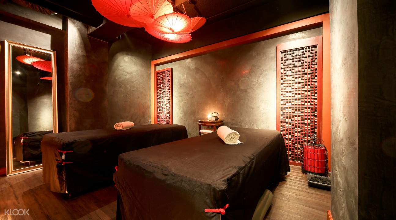 Massage Room at Qiwellness Spa Experience in Makati