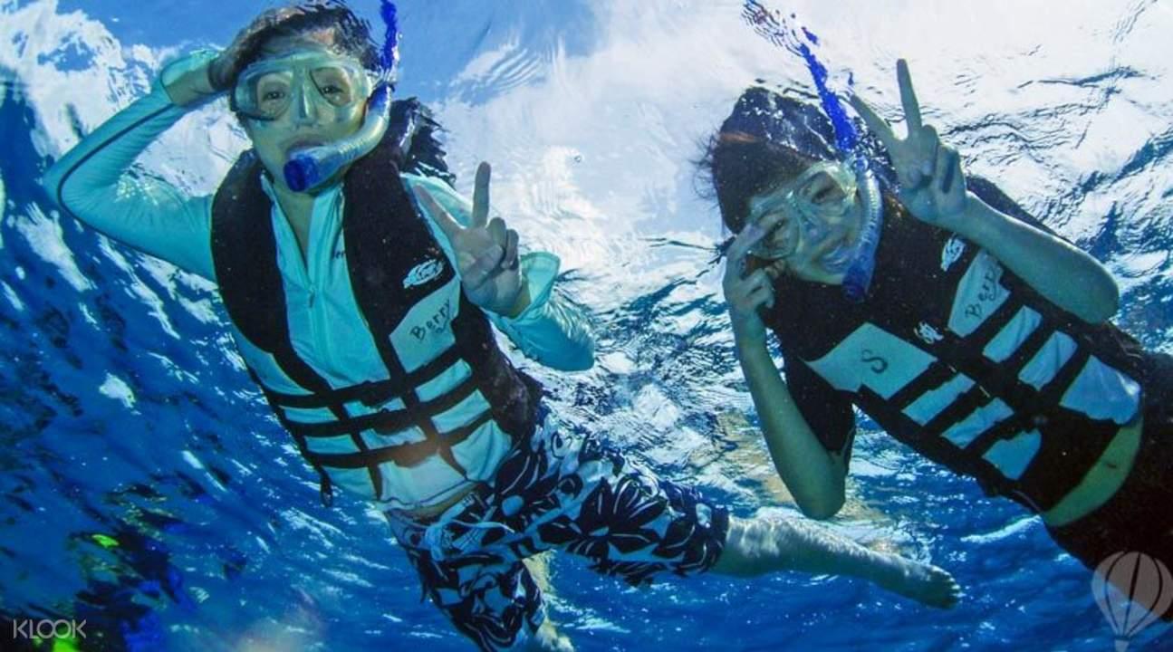 贝里浮潜体验