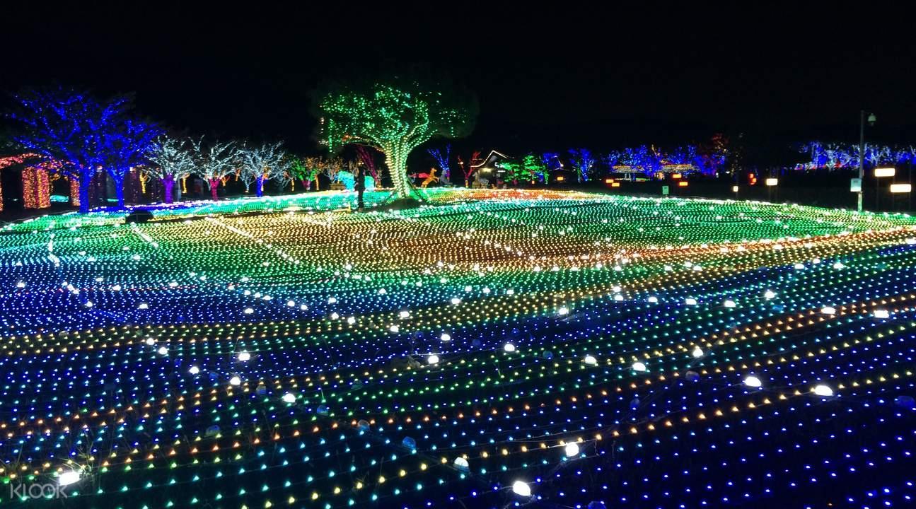 釜山庆南赛马公园中秋节夜游