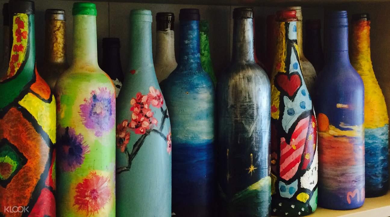 玻璃樽艺术画坊