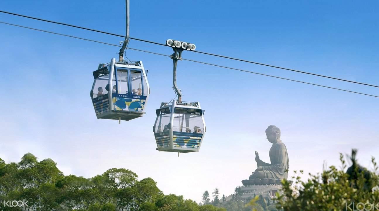 香港油麻地尖東至香港迪士尼樂園昂坪360