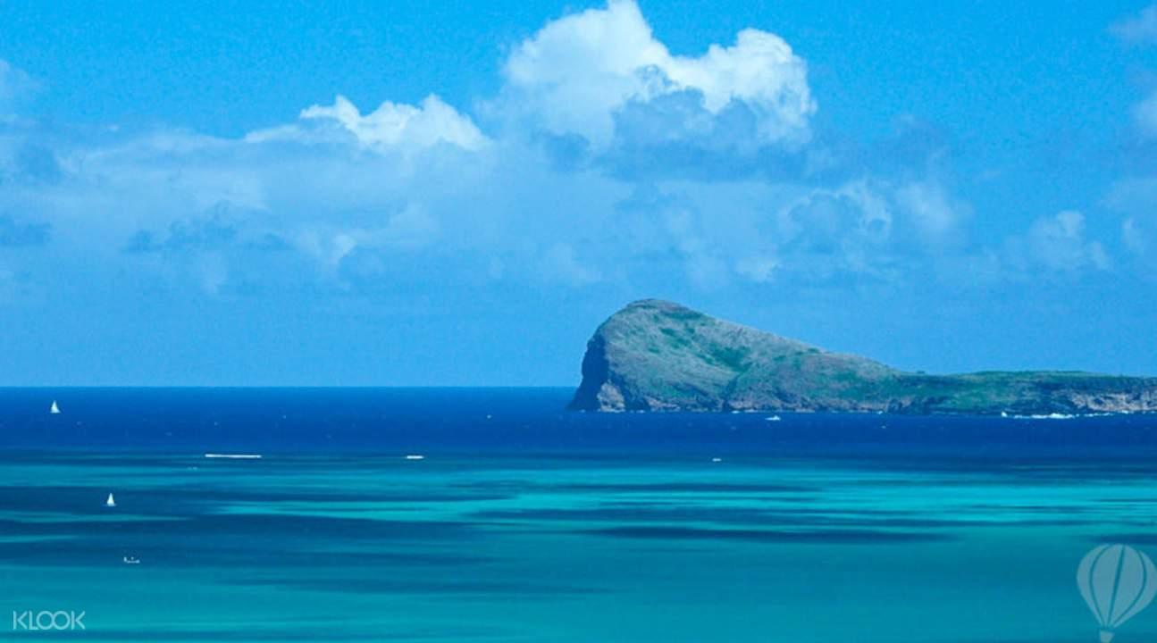 双体船游北三岛