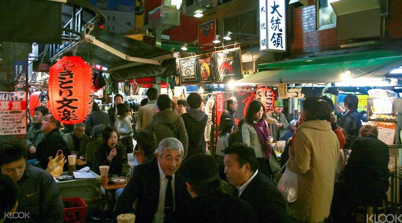Local bars in Tokyo
