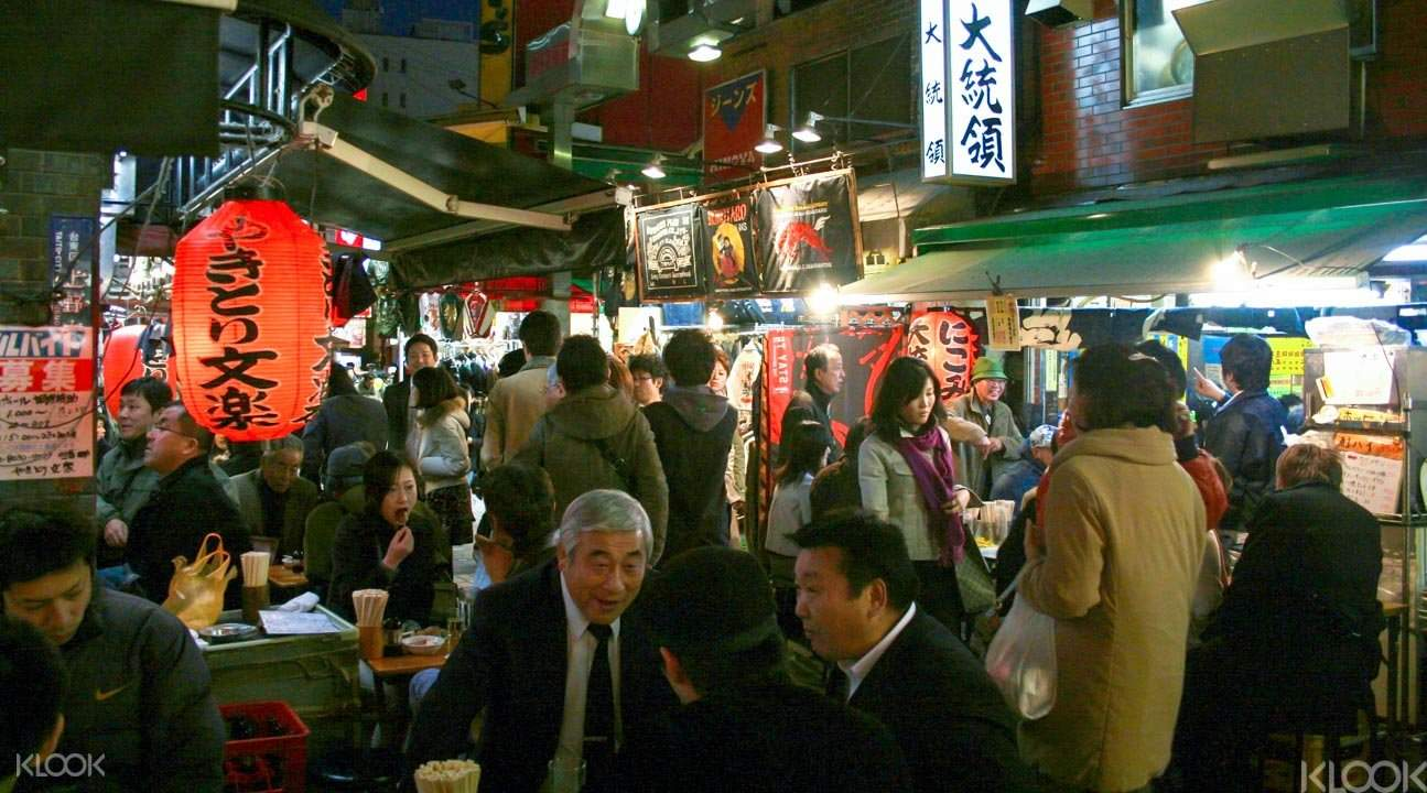 Local bars in Tokyo