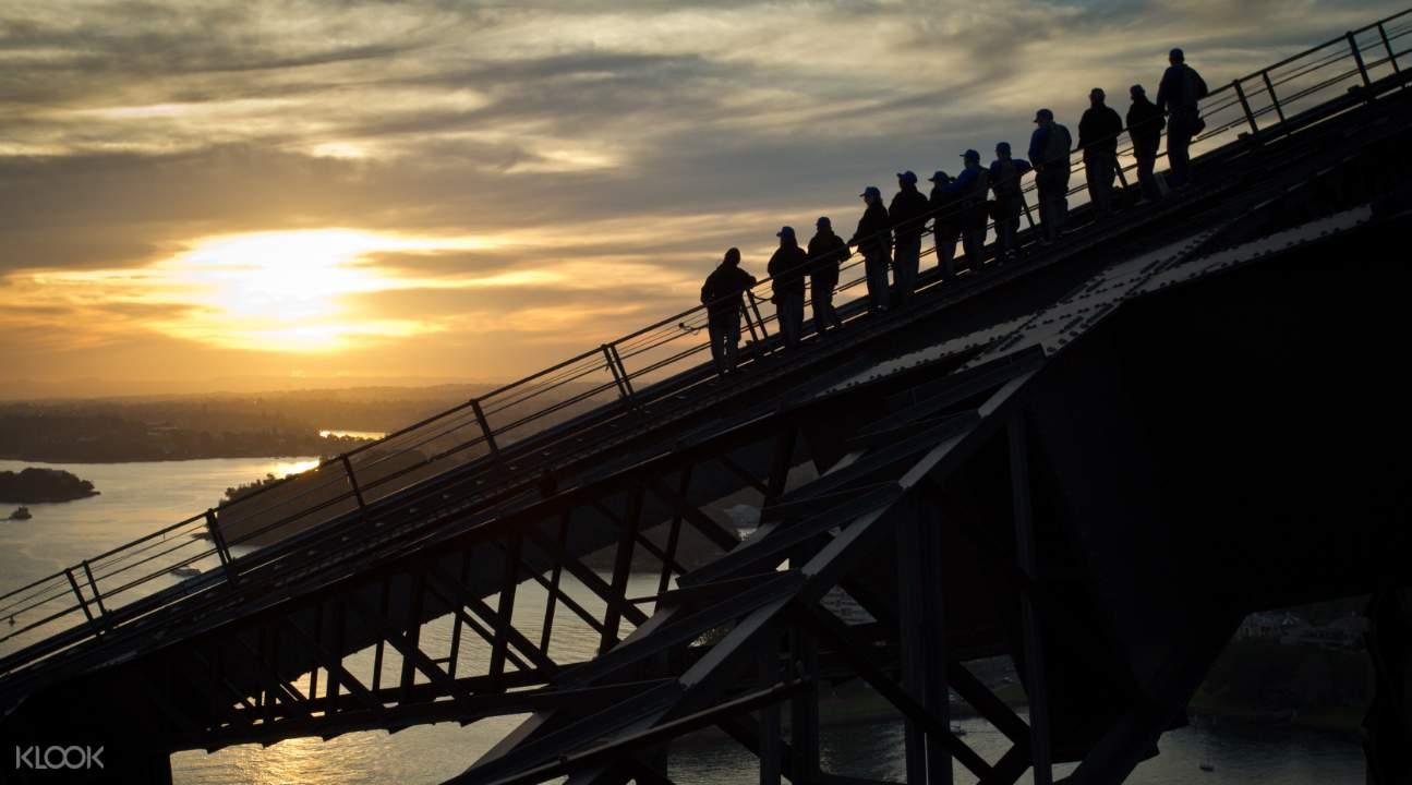 sydney harbour bridge night climb