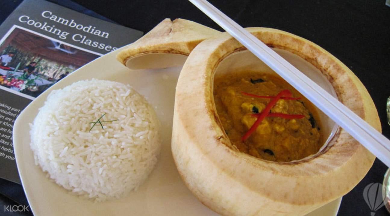 柬埔寨传统菜式烹饪班