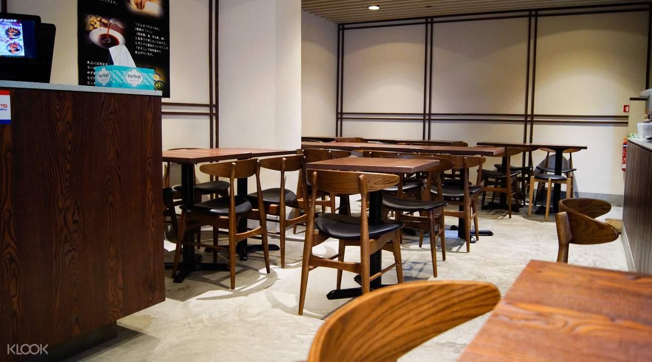 interior of Fu-Men in Raffles Place
