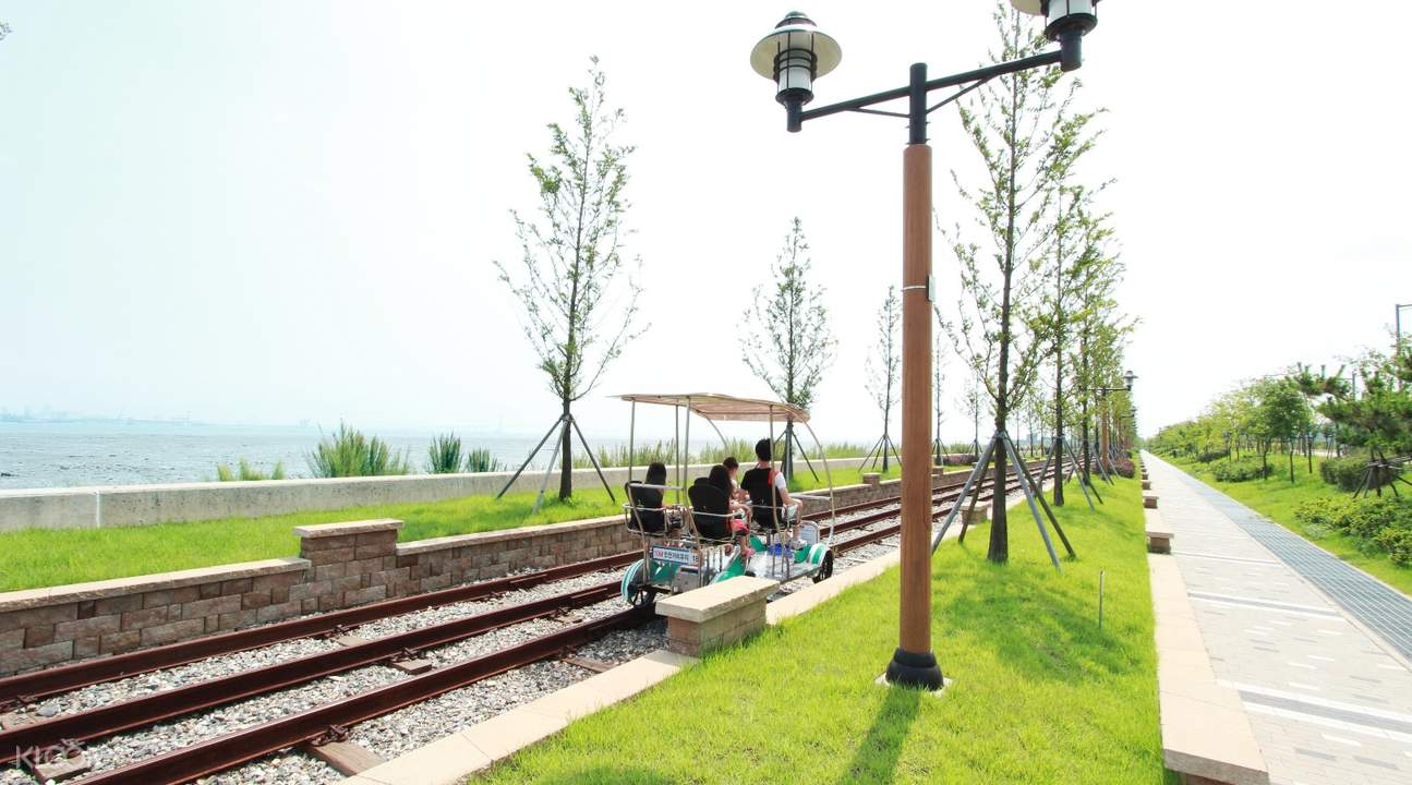 yeongjongdo seaside rail bike park