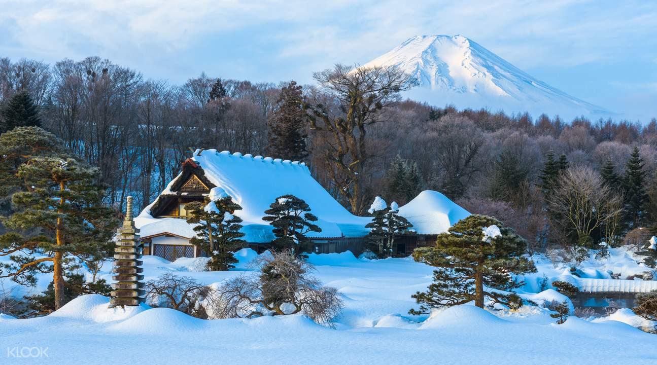 富士忍野村