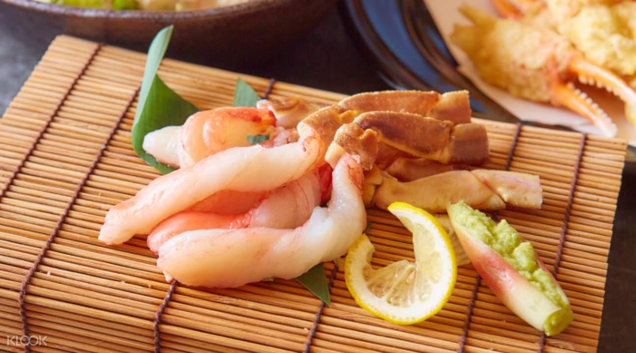 crab cuisine Karin in Namba Osaka Japan