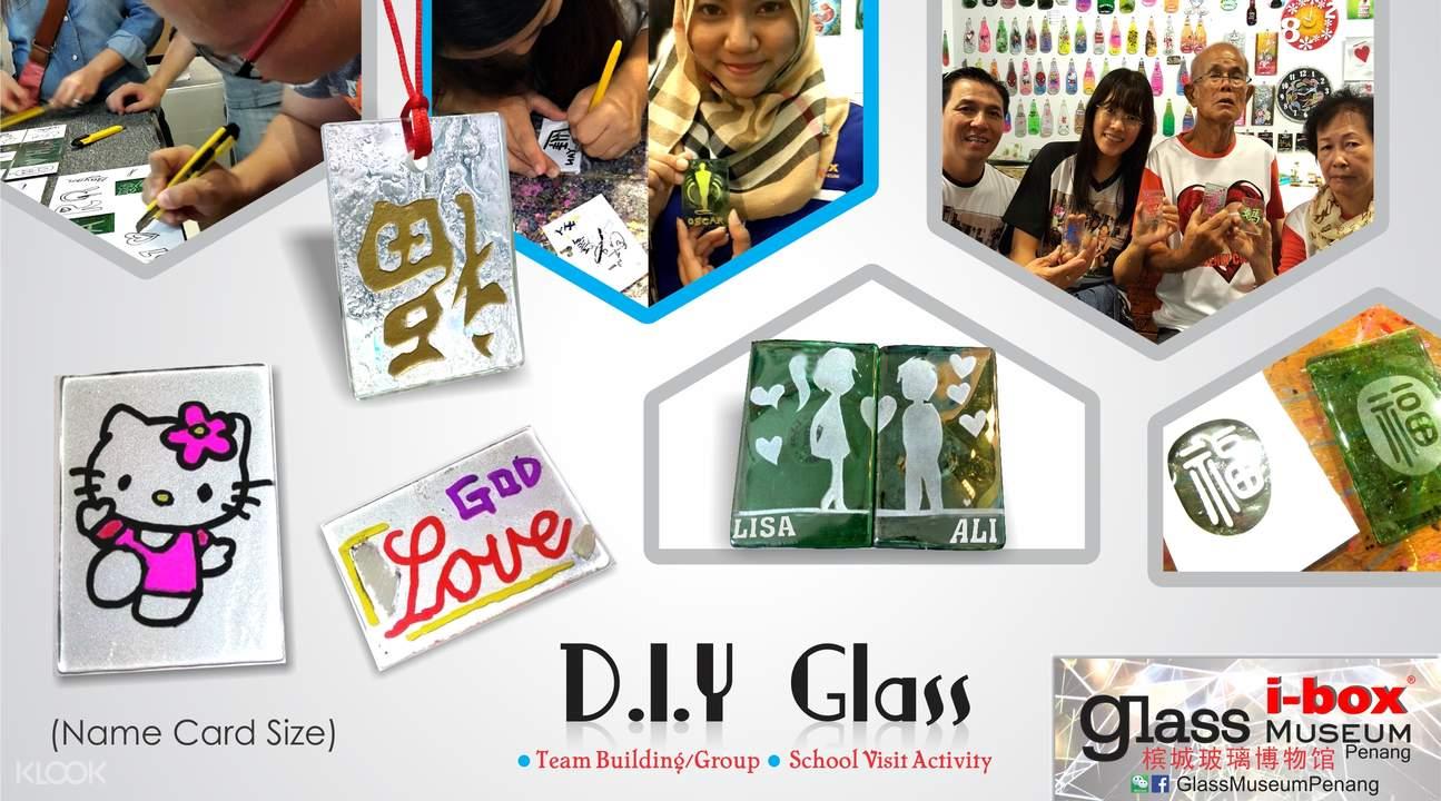 diy glass crafting museum penang
