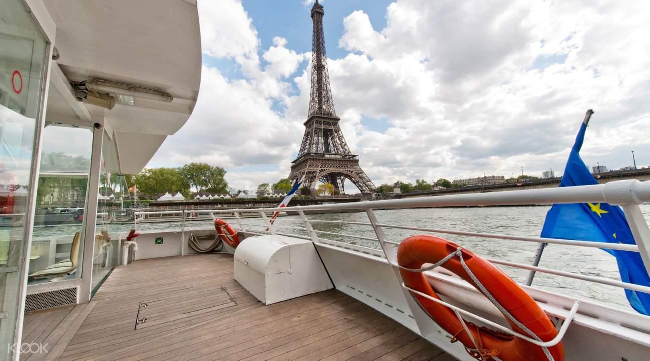 巴黎自由行,巴黎鐵塔,塞納河遊船,艾菲爾鐵塔