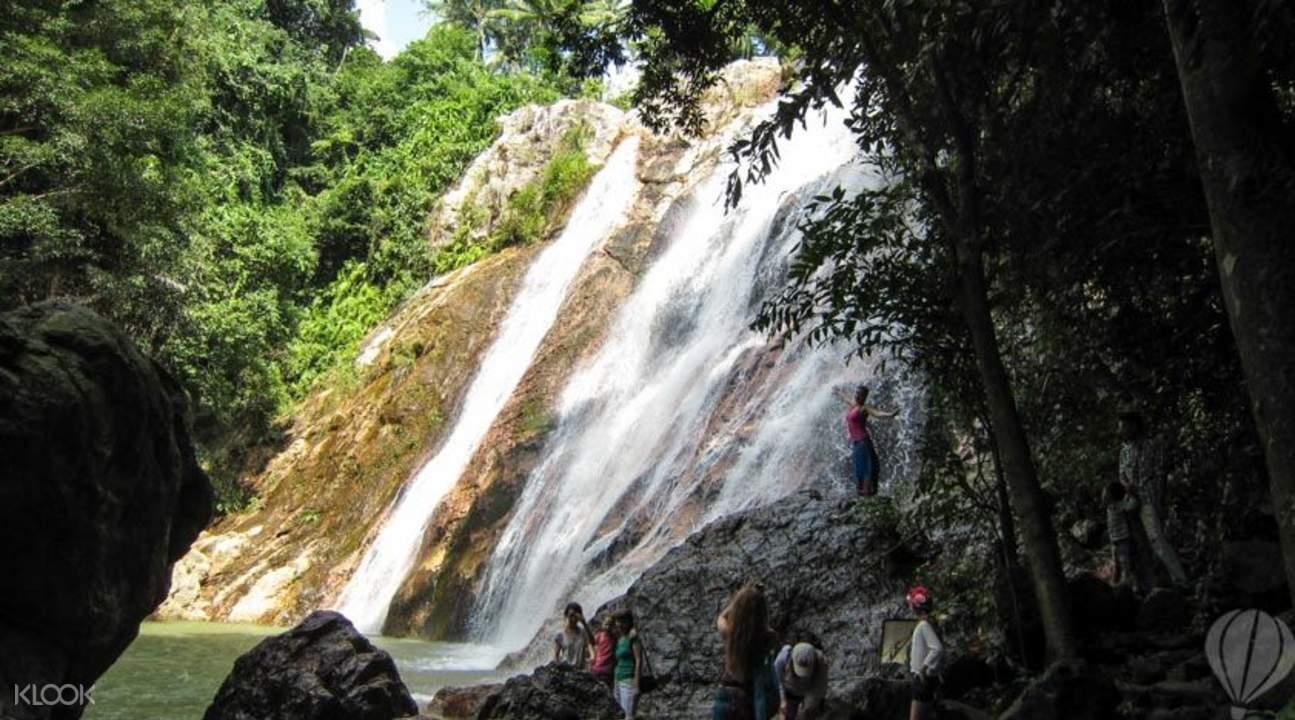secret waterfall koh samui