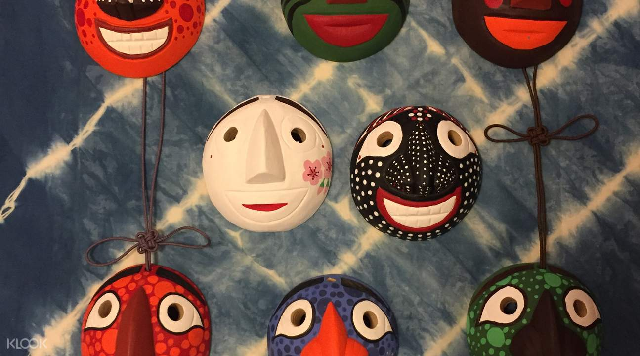 Seo jin korean traditional mask workshop
