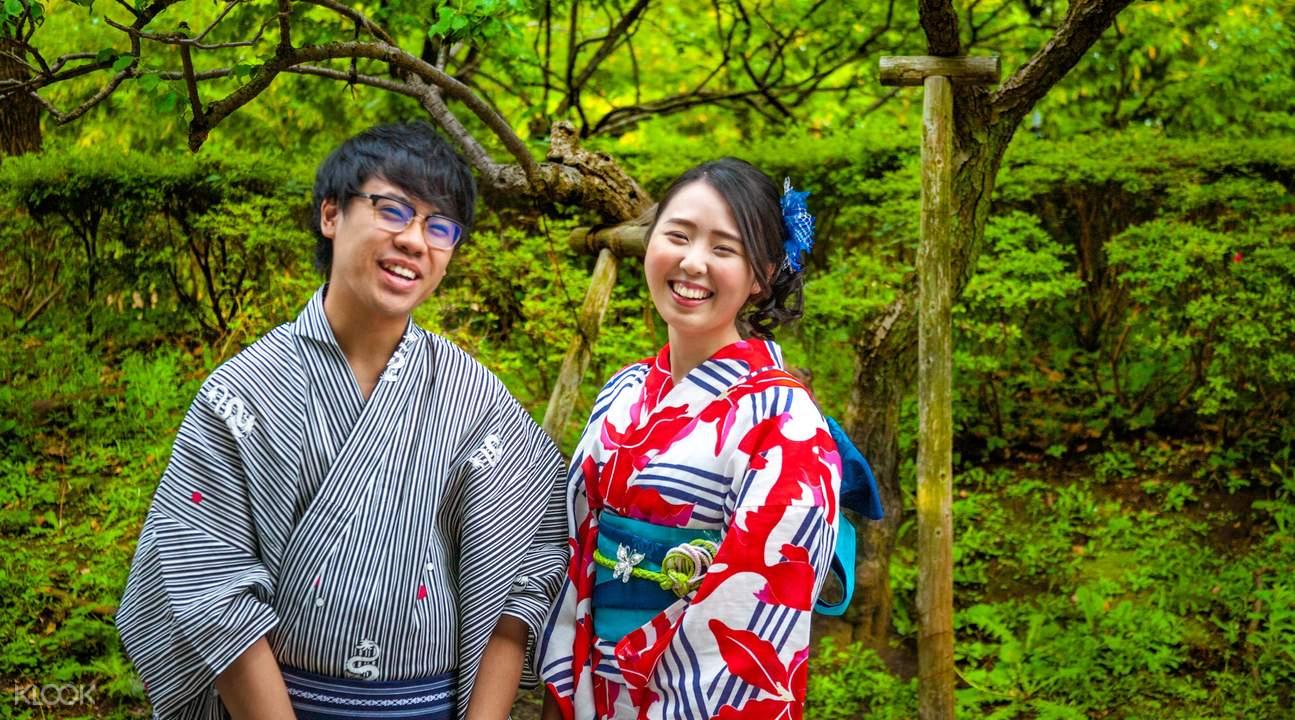 東京淺草和服體驗