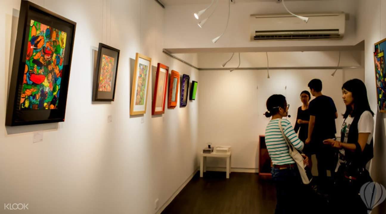 soho艺术画廊导览