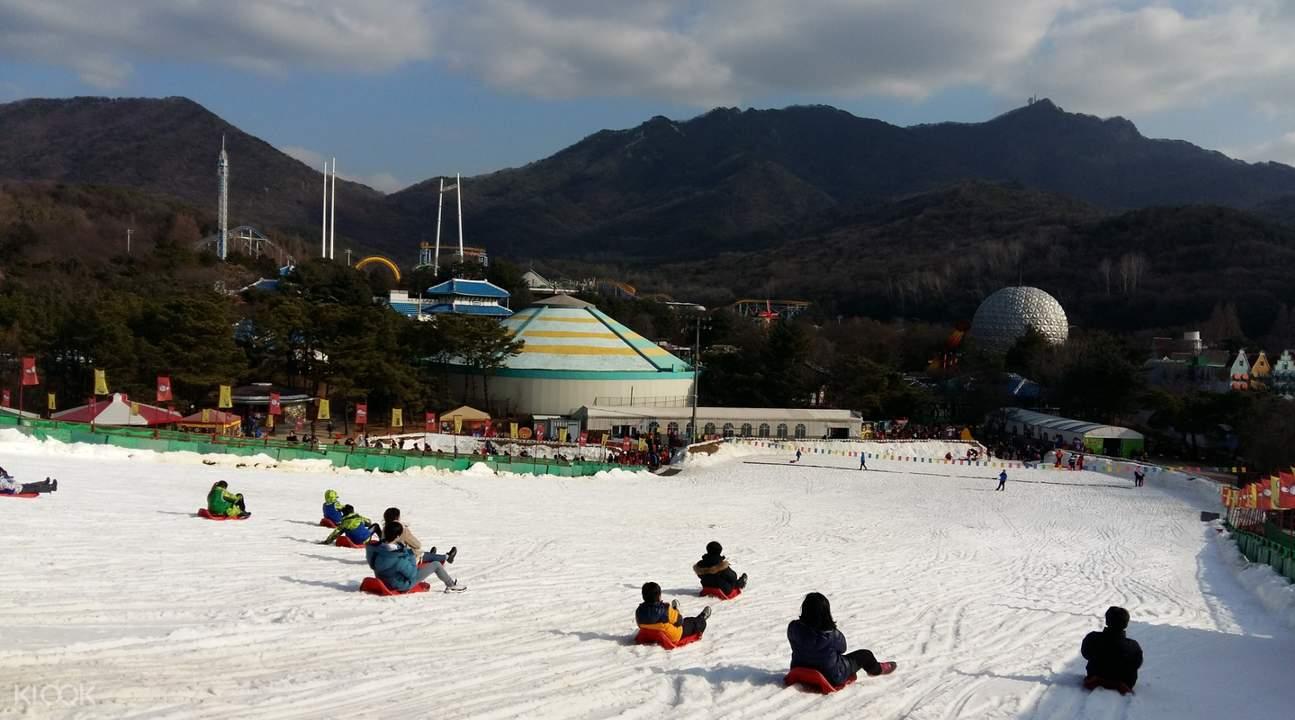 winter in seoul land