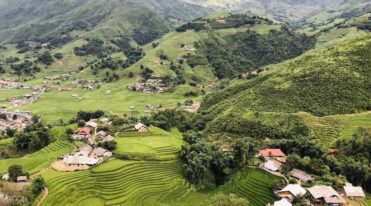 sapa trekking countryside