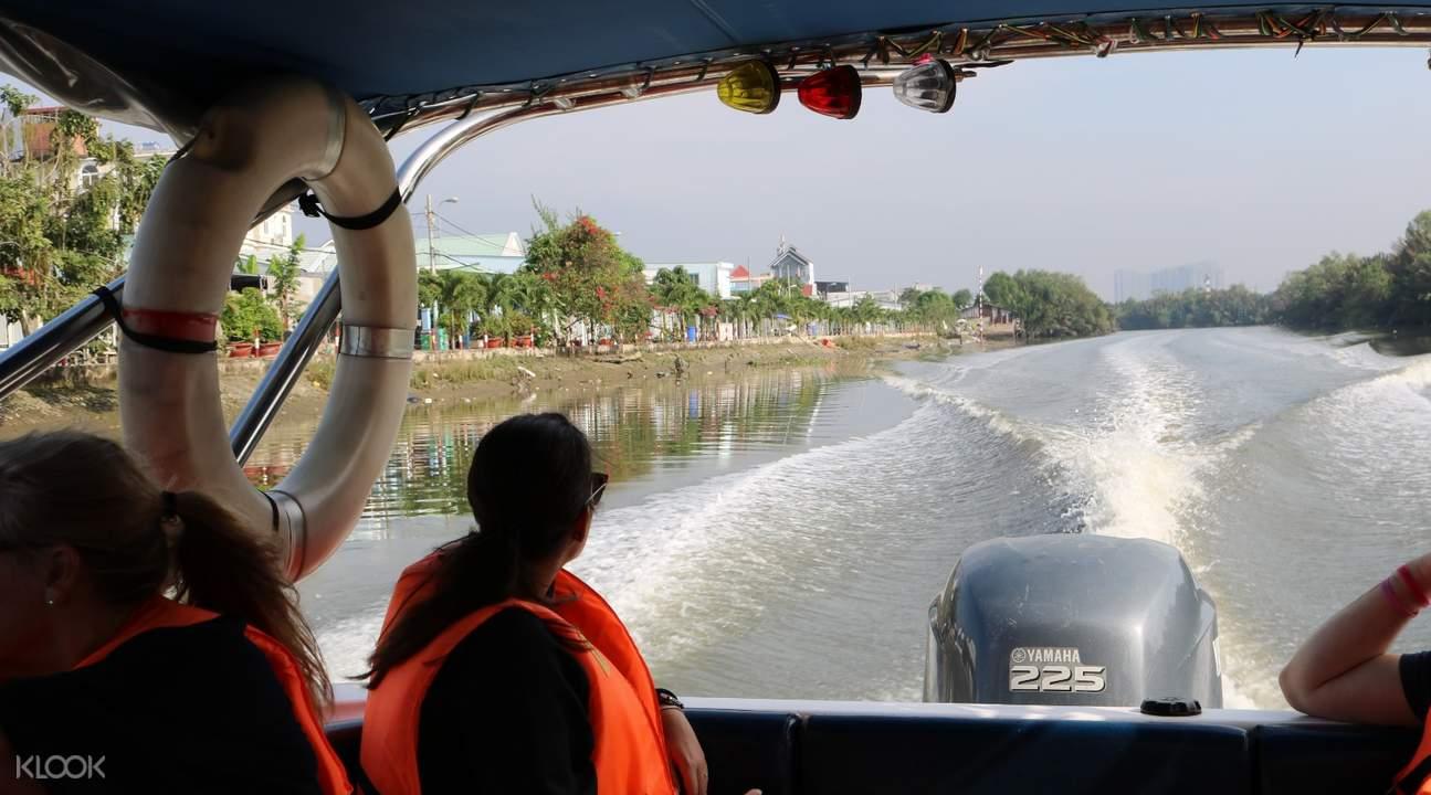 speedboat Mekong Delta