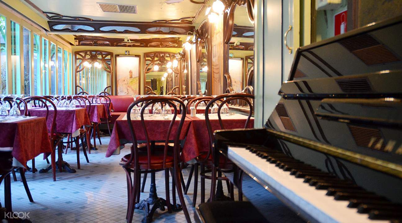 montmartre music dinner