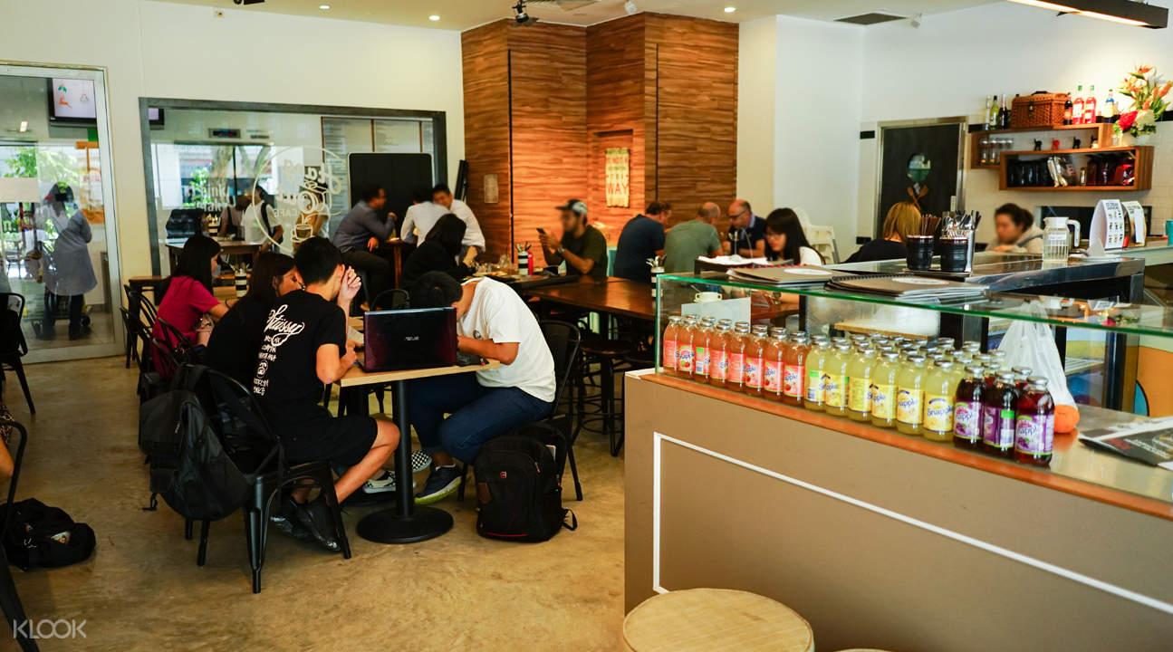 新加坡明古连Hang Out Cafe