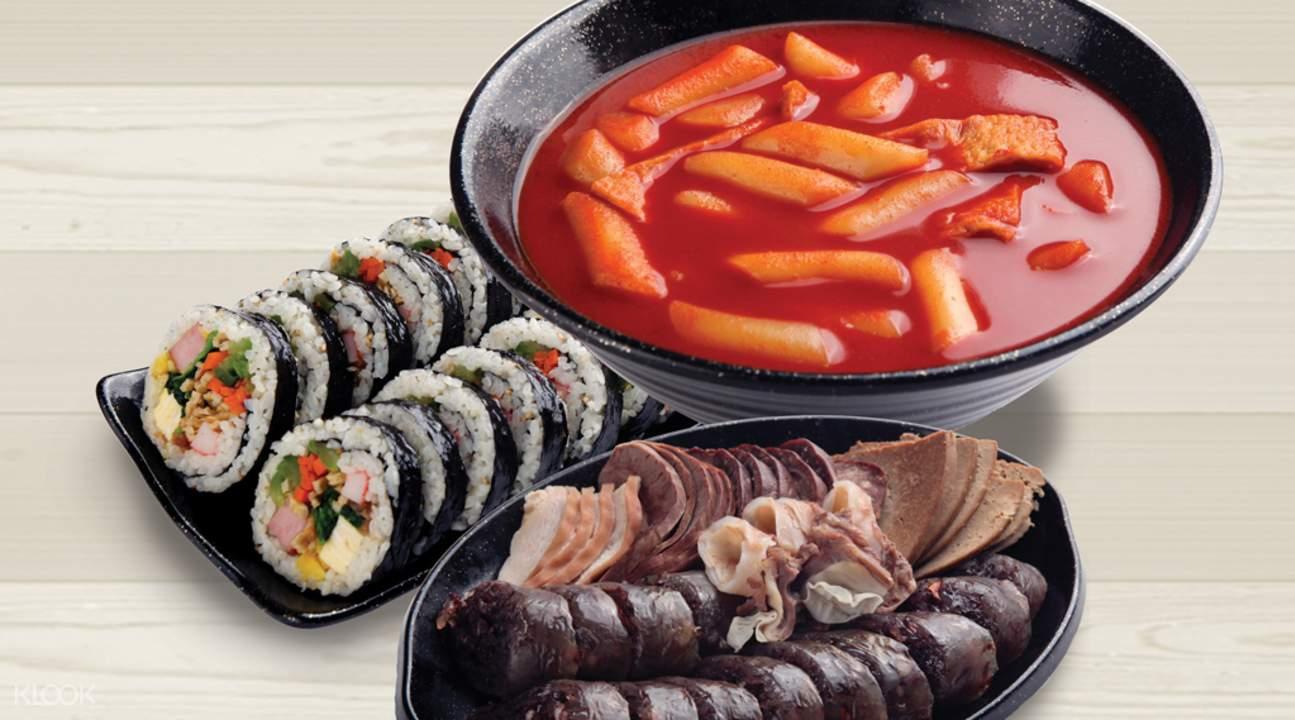 江南供需间韩国特色小吃套餐