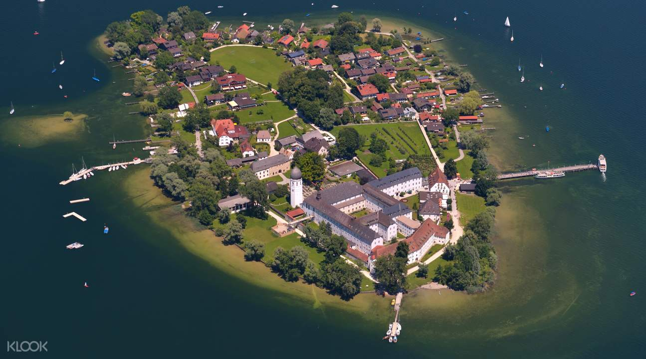 royal castle of herrenchiemsee tour