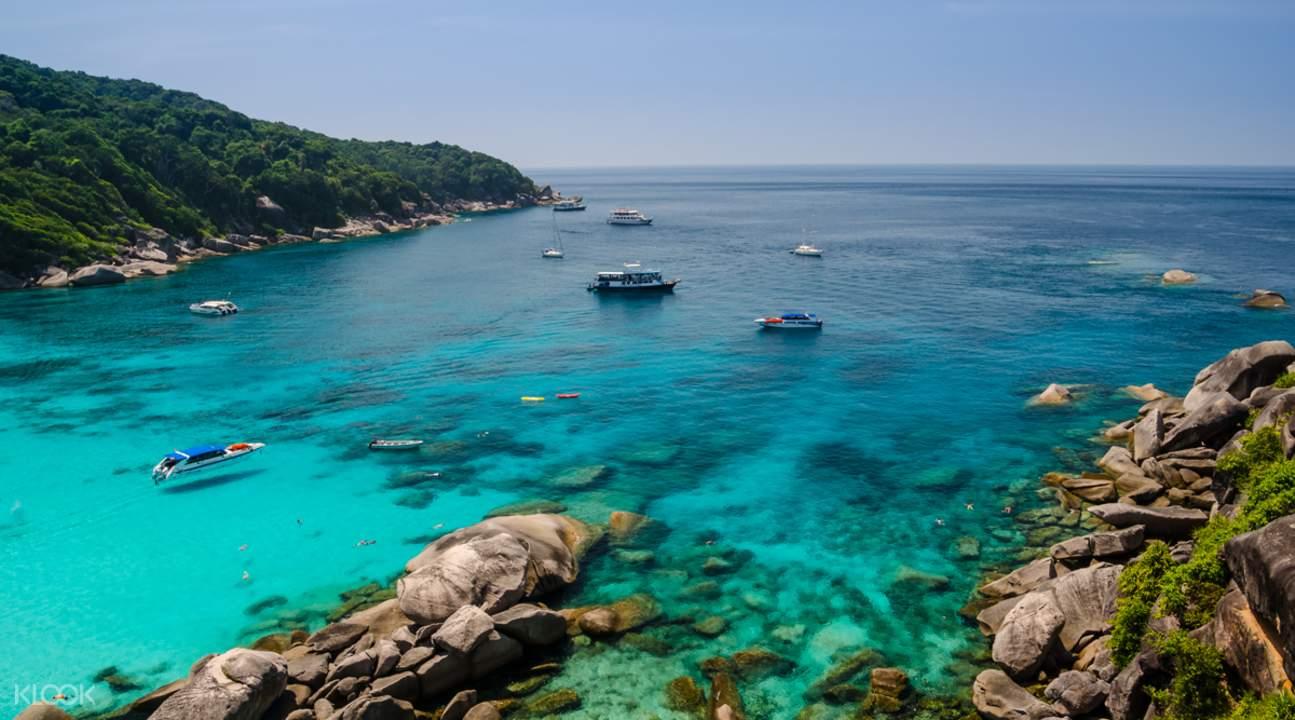 泰國斯米蘭群島,斯米蘭群島,Similan群島