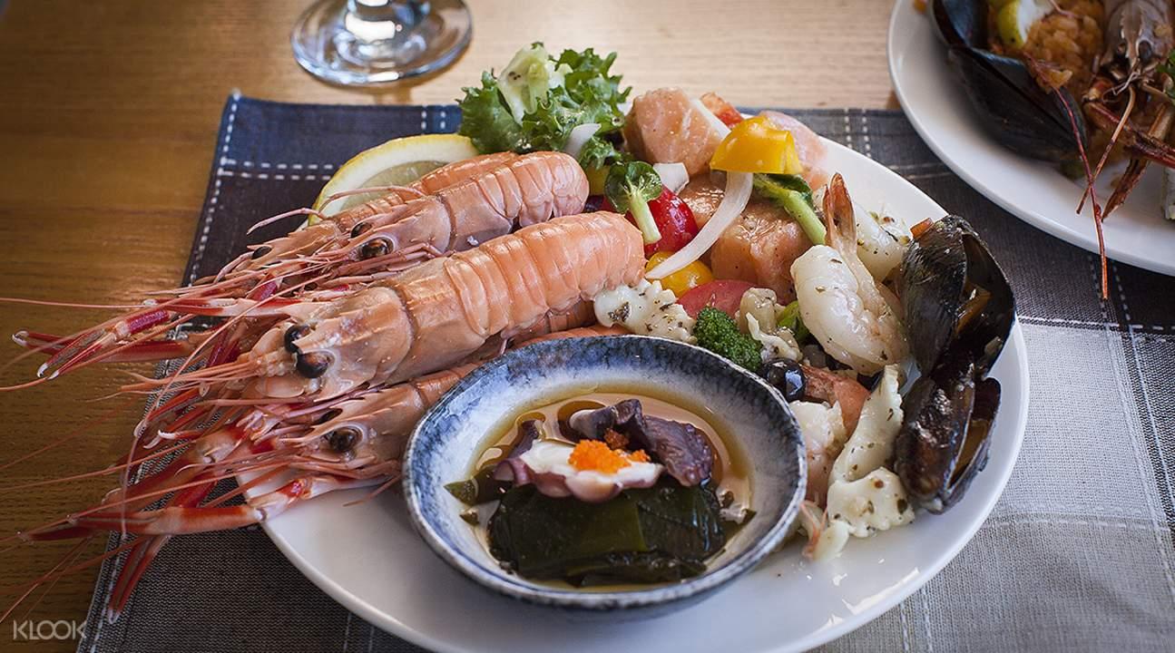 seafood buffet jeju island