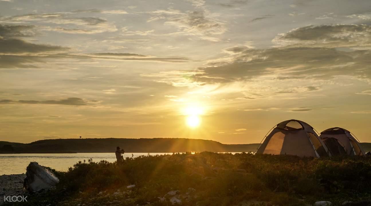 澎湖無人島露營